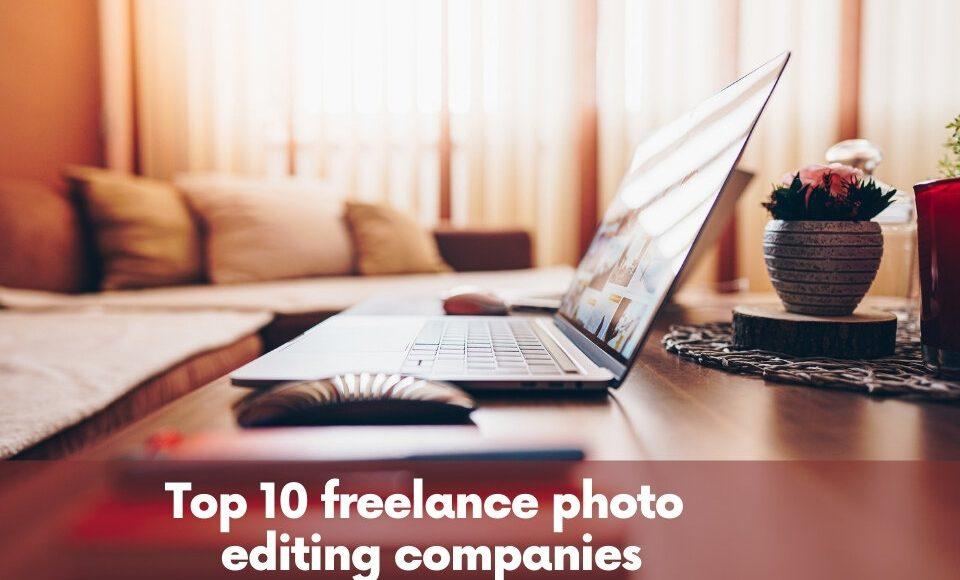 freelance photo editing