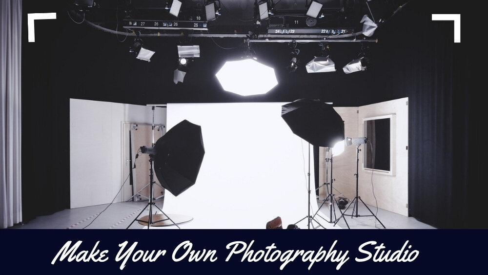 how to build a photography studio